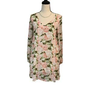 Dainty Hooligan Women's Floral Tunic Dress Small